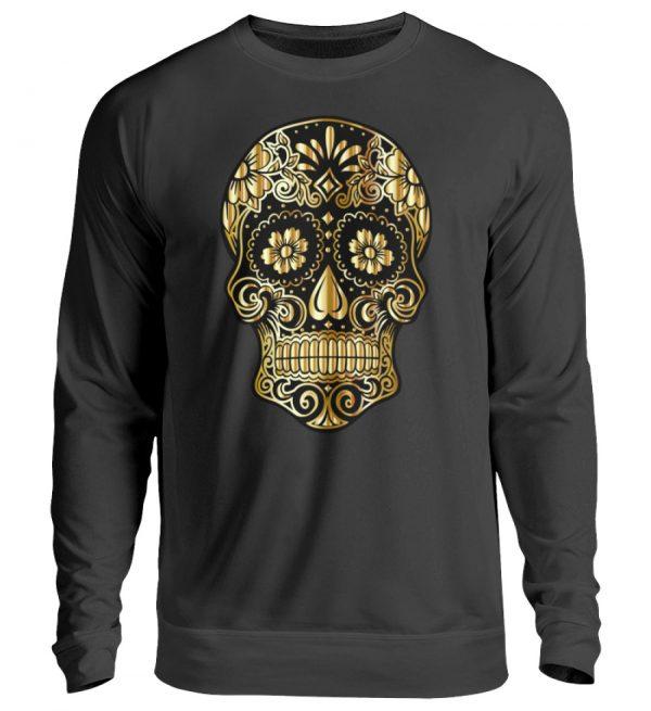 SpreeRocker® - Golden Skull - Unisex Pullover-1624