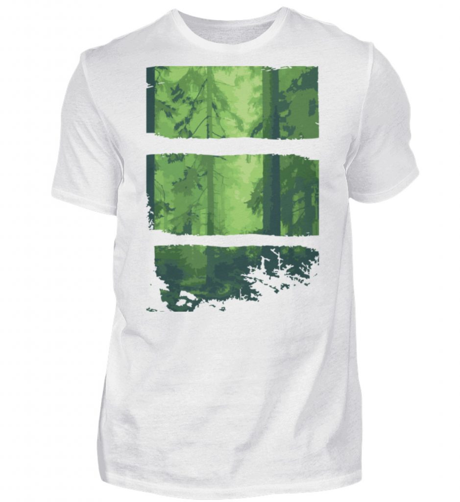 Nature Green Wood - Herren Shirt-3