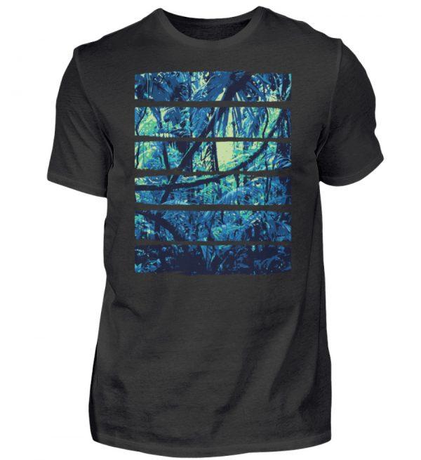 Nature Blue Jungle - Herren Shirt-16