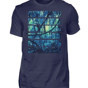 Nature Blue Jungle - Herren Shirt-198