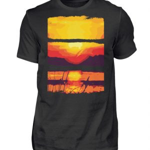 Nature Sun Down - Herren Shirt-16