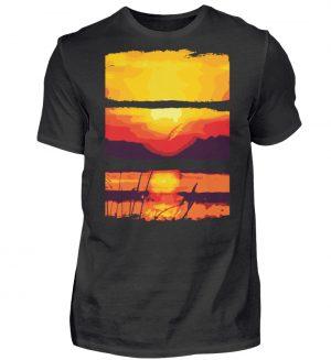 Nature Sun Down - Herren Shirt-16