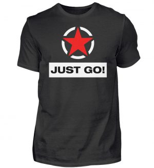 JUST GO! Red Star - Herren Shirt-16