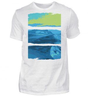 Nature Green-Blue - Herren Shirt-3
