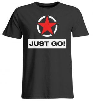 JUST GO! Red Star - Übergrößenshirt-639