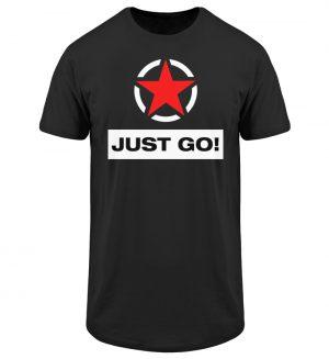 JUST GO! Red Star - Herren Long Tee-16