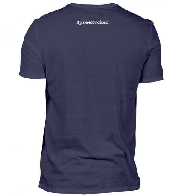 SpreeRocker - alright - Herren V-Neck Shirt-198