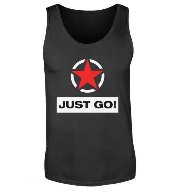 JUST GO! Red Star - Herren Tanktop-16