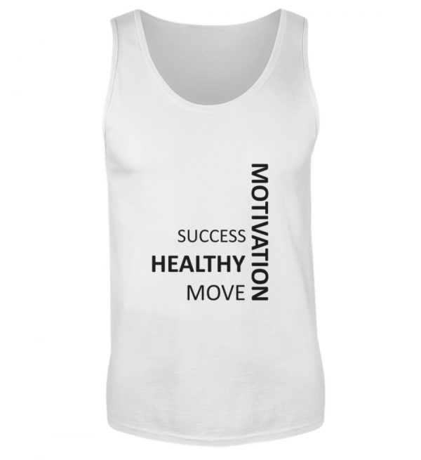SpreeRocker - Motivation - Herren Tanktop-3