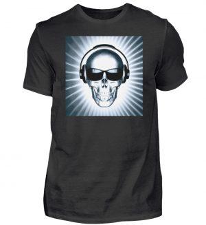 SpreeRocker - Headphone Skull - Herren Shirt-16
