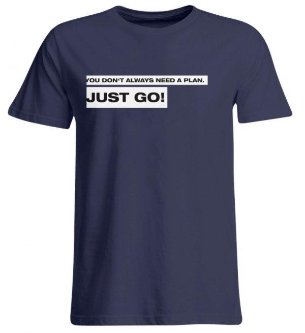 JUST GO! White - Übergrößenshirt-198