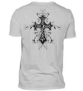 SpreeRocker® - Biker Skull - Herren Shirt-1157