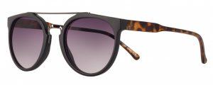 AMIGO Sonnenbrille Damen Kat.2 matt schwarz lila/rauch (AMU19210 C)