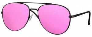 CWI sonnenbrille Pilot Damen Kat. 3 mattschwarz/pink