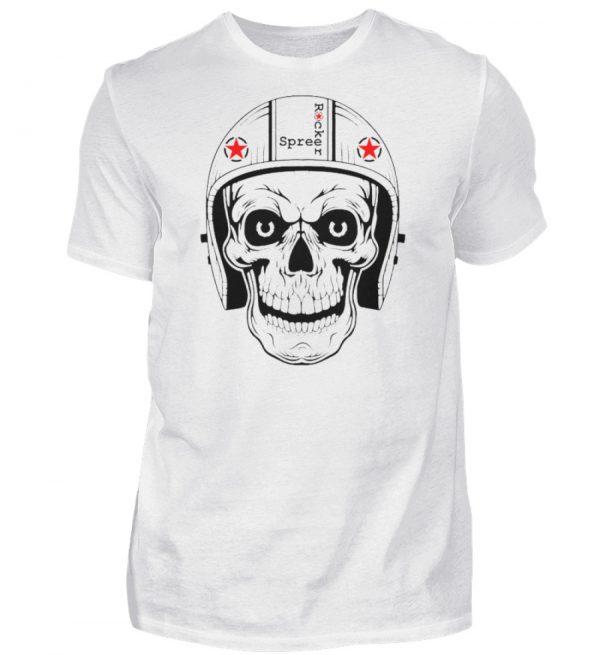 SpreeRocker® - Biker Skull - Herren Shirt-3