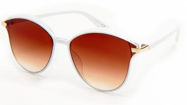 Kost Sonnenbrille Trendy Damen Kat.3 Schmetterling braun/weiß (19-044)