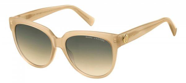 Marc Jacobs Sonnenbrille Damen wanderer/runder champagner