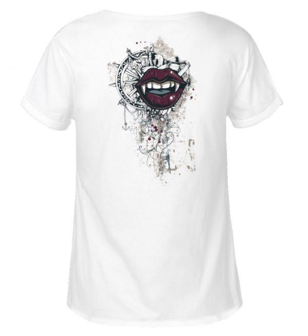 SpreeRocker® - Eyes - Damen RollUp Shirt-3