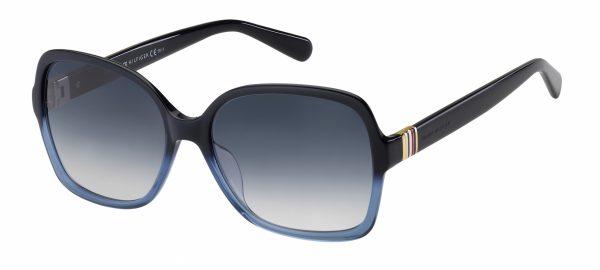 Tommy Hilfiger Sonnenbrille 1765/S Damen acetate/steel blue