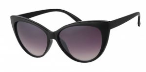 VDM sonnenbrille Damen schwarz mit grauer Linse Kat. 3 (A 60732)